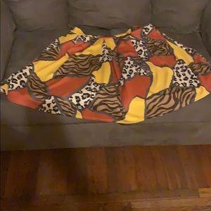 Ashley Stewart multicolored skirt
